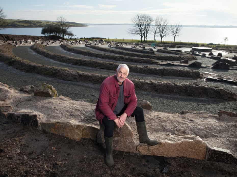 Will Coleman at the Kerdroya Site in St Neot, Bodmin Moor, Cornwall.
