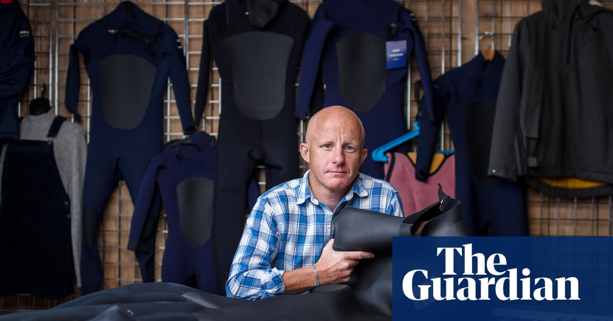 The sustainable surfer: meet the team behind the worlds first fully recyclable wetsuit