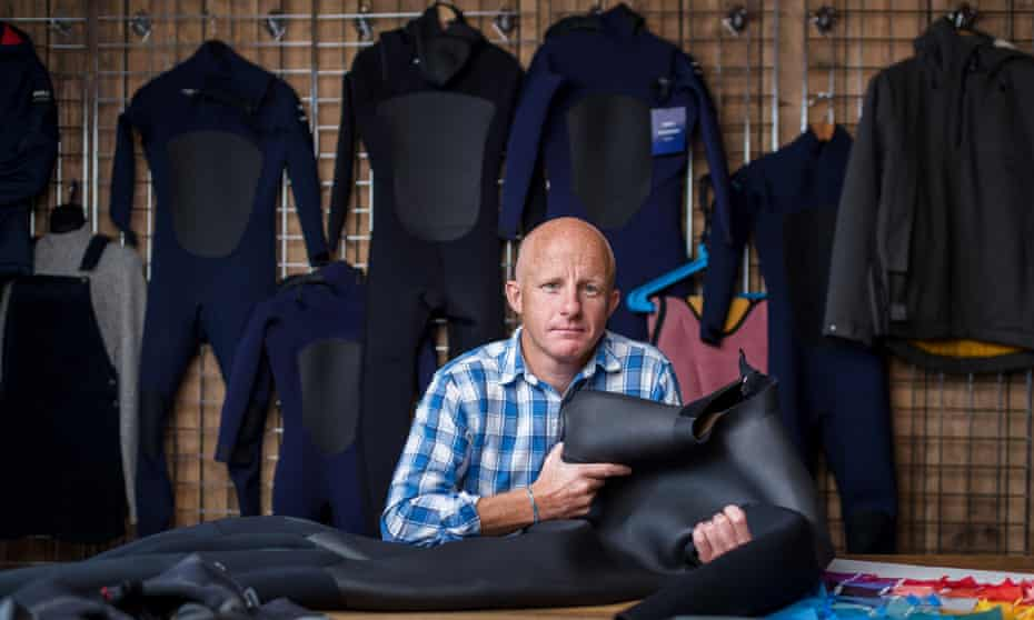 Tom Kay, founder of Finisterre: 'We're very much involved in solving these problems in innovation.'