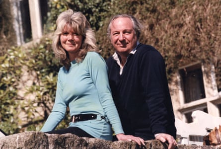 Jilly Cooper with husband in 1991