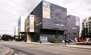 UEL University Square Stratford external view