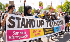 Protests have taken place across the UK throughout June, with demonstrators demanding change.