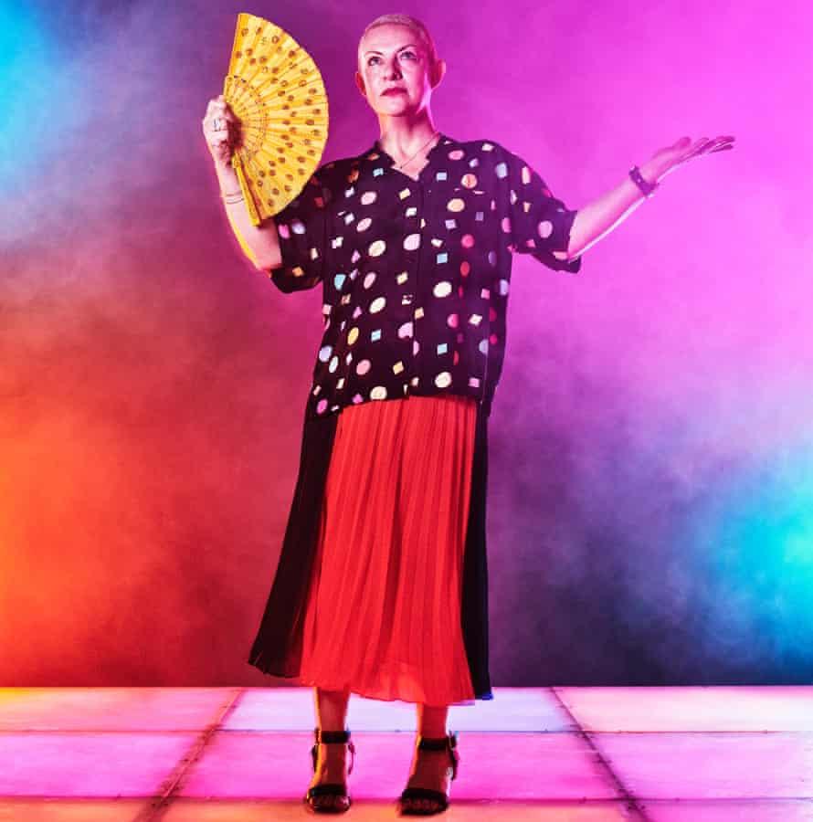 Clubber Amanda Freeman on dancefloor