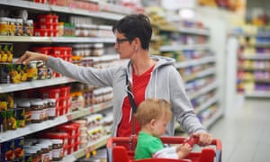 Hard-pressed families are most at risk because they spend more of their budgets on food and other staples, said the study.