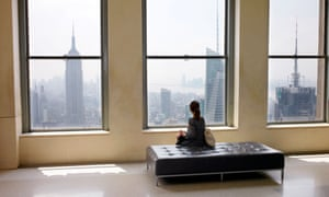 Lonely city: Olivia Laing's book explores her experiences of solitude in New York.