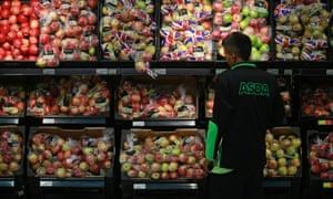 Asda produce aisle