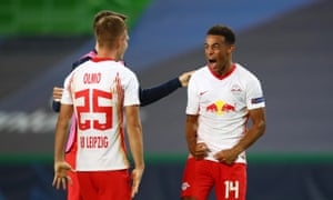 It S A Bit Unreal Us Midfielder Adams Takes Rb Leipzig Into Semi Final Football The Guardian