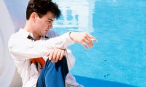 Going nowhere … Robert Downey Jr as Julian in Marek Kanievska's 1987 film of Less Than Zero.