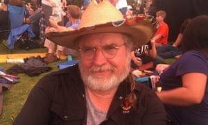 John Dromgoole, 71, has been following the musician since his early Austin days at the Armadillo World Headquarters in the Seventies.