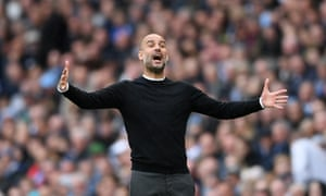 Pep Guardiola will attempt to help Manchester City retain the title of the Premier League for the first time.
