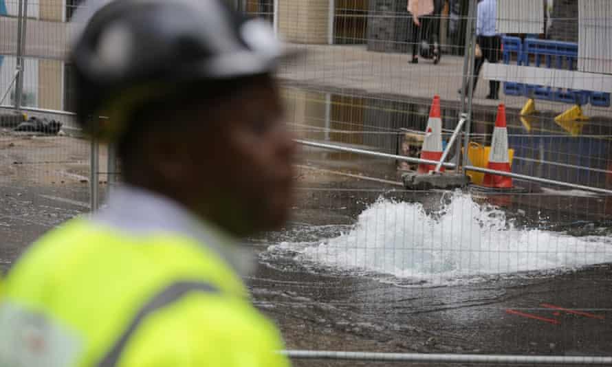 Water leak.