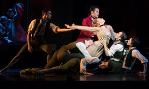 Choreographer Liam Scarlett, a former Royal Ballet dancer, handles the source material with vigorous confidence.