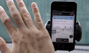 Waze is Google's other driving navigation app.