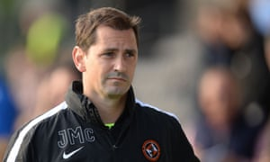 Jackie McNamara took over at Dundee United in January 2013 but left in September after a disappointing start to the season.