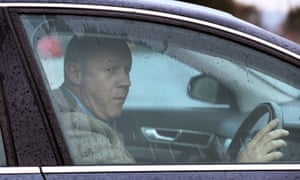 Damian Green leaves his house in Ashford, Kent.