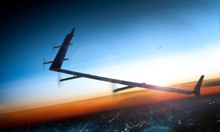 Facebook's Aquila drone was developed in Bridgwater, Somerset, by a team Facebook acquired for $20m back in 2014.