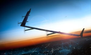 Facebook's solar-powered 4D drone, Aquila.