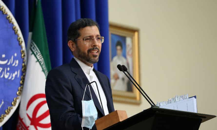The Iranian foreign ministry spokesman, Saeed Khatibzadeh, has said a prisoner exchange would involve all dual nationals being released simultaneously.
