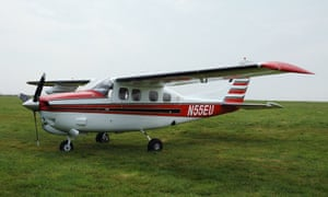 The Cessna used to smuggle cocaine into the UK