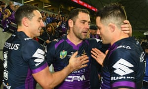 Billy Slater, Cameron Smith and Cooper Cronk