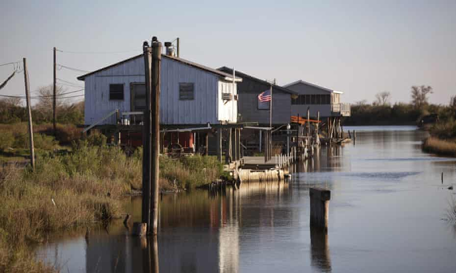 The Biloxi-Chitimacha-Choctaw tribe in Louisiana has found money to relocate due to the impact of climate change. Others aren't so lucky.