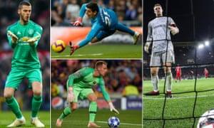 David de Gea, Thibaut Courtois, Manuel Neuer and Marc-André ter Stegen have all let their high standards slip.