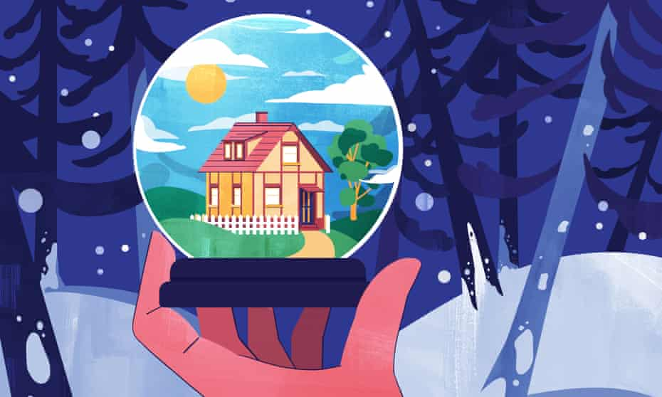 Illustration for Money - insulated home