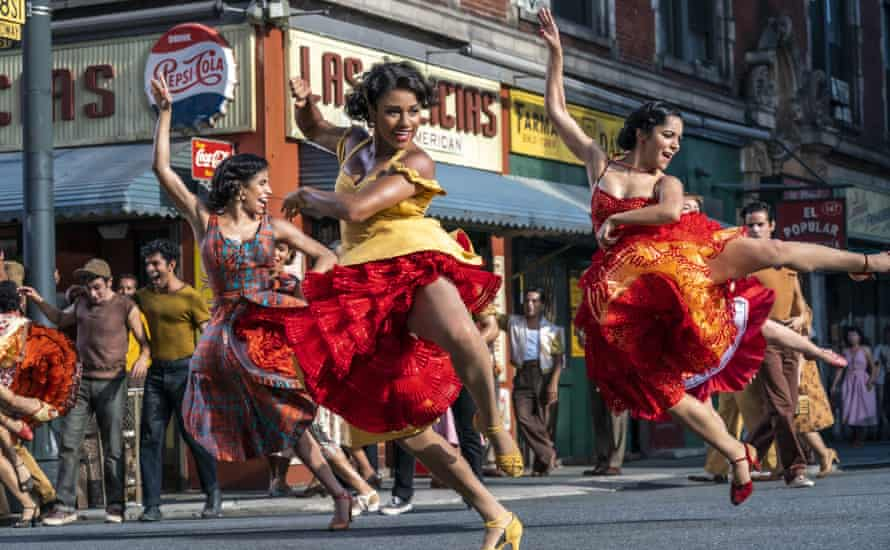 Ariana DeBose as Anita in the Steven Spielberg adaptation of West Side Story.