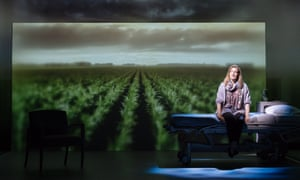 'An extraordinary feat of memory': Laura Linney in My Name Is Lucy Barton at the Bridge theatre.