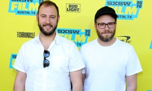 Evan Goldberg (left) and Seth Rogen