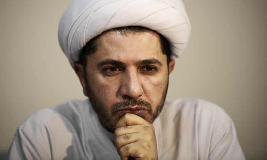 Opposition leader Sheikh Ali Salman