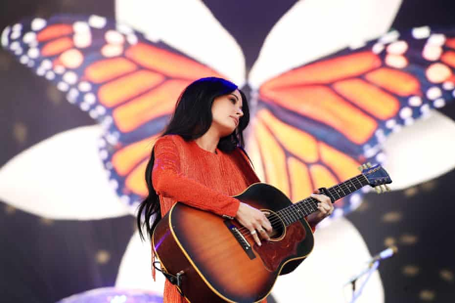 Kacey Musgraves performing at Coachella in California earlier this month.
