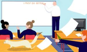 Secret life of a teacher