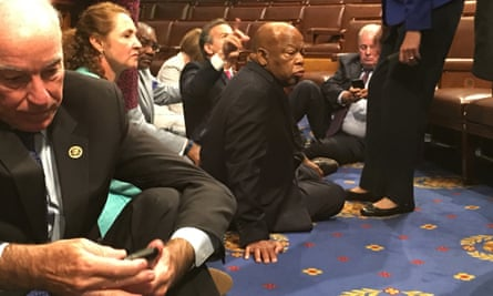 Democratic sit-in