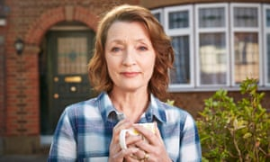 Lesley Manville as Cathy in the sitcom Mum.