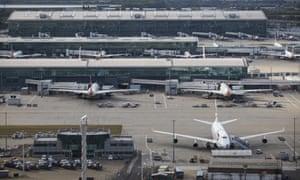 Terminal 5 at Heathrow.