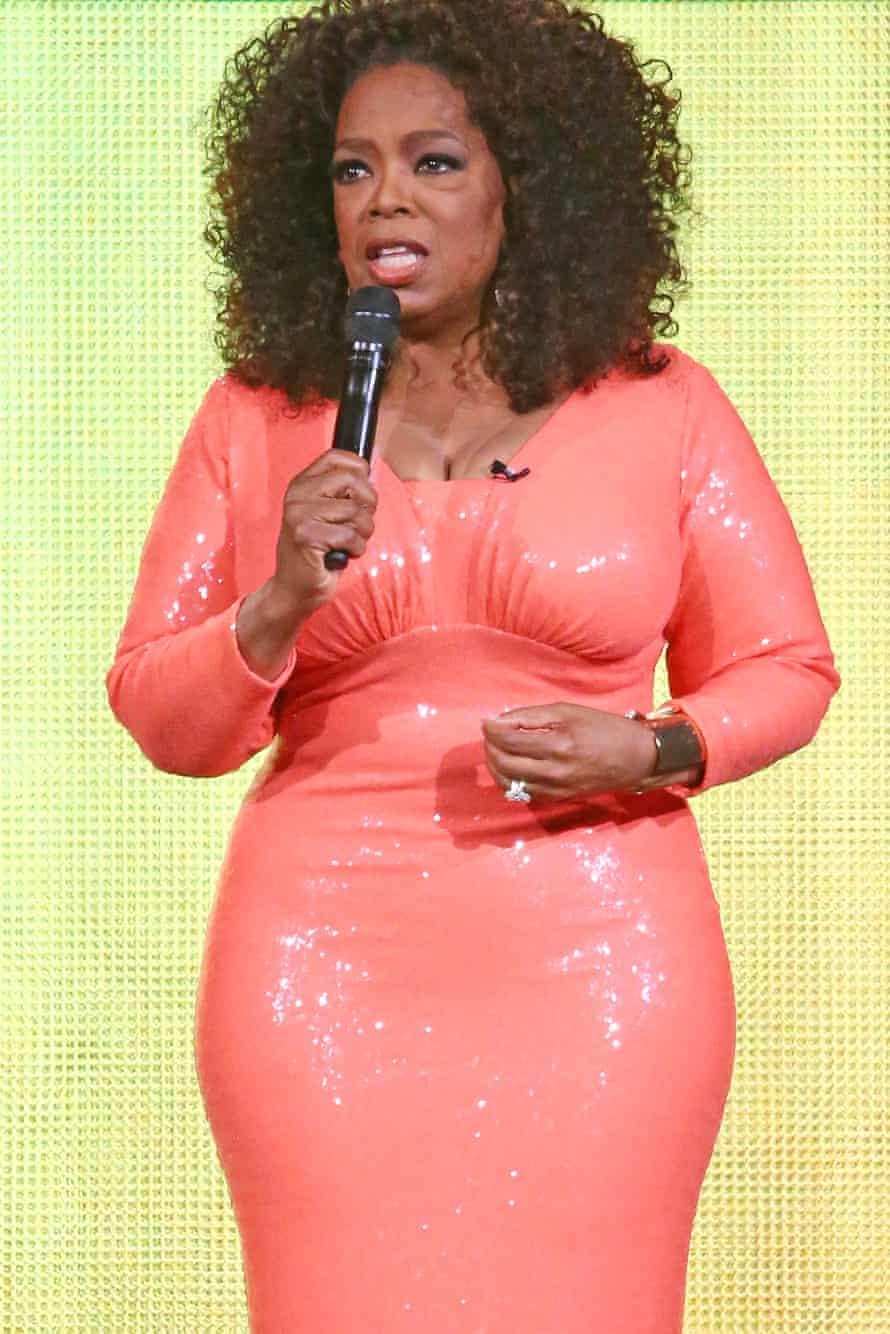 Oprah Winfrey in Melbourne