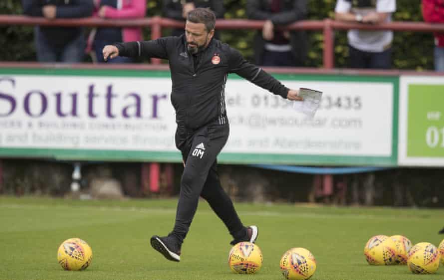 Derek McInnes will be hoping for another positive season at Aberdeen having turned down the Sunderland job in the summer
