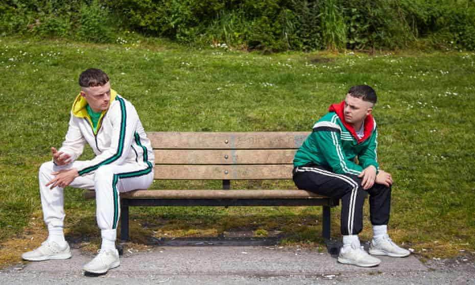 Chris Walley and Alex Murphy in The Young Offenders