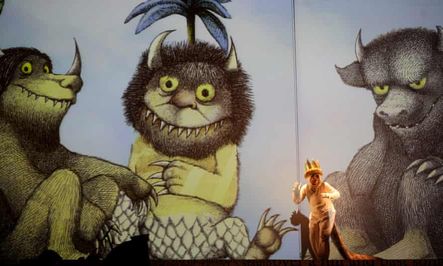 Claire Booth as Max in Netia Jones's 2012 production for Aldeburgh festival of Knussen's opera Where The Wild Things Are.