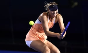 Maria Sharapova is not expected to play until mid-March.