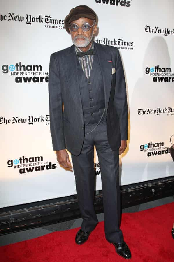 Melvin Van Peebles at a film industry awards event in 2008.