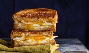 My fried egg sandwich, by Tom Oldroyd. 20 best meals for one. Food stylist Polly Webb-Wilson.