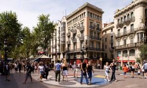 Las Ramblas, Catalonia, Barcelona
