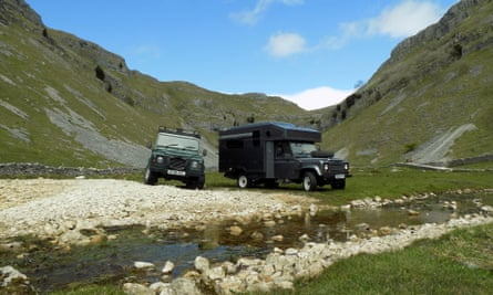 Overland Campers, available through coolcamping.com