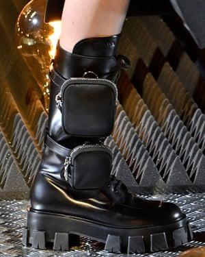 Boot at Prada.
