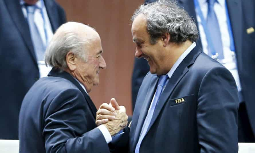 Sepp Blatter and Michel Platini are welcome in Russia.