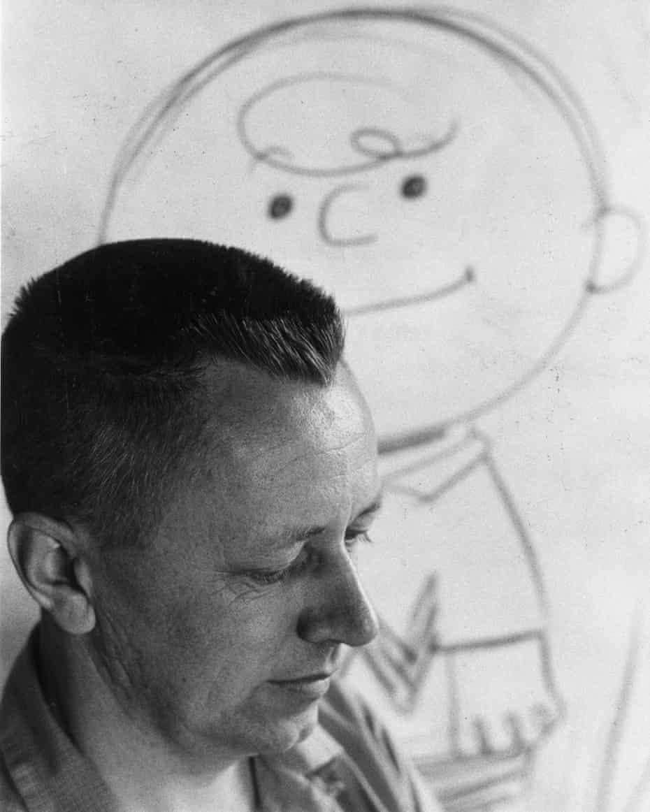 """Peanuts"" creator Charles Schulz in 1958."