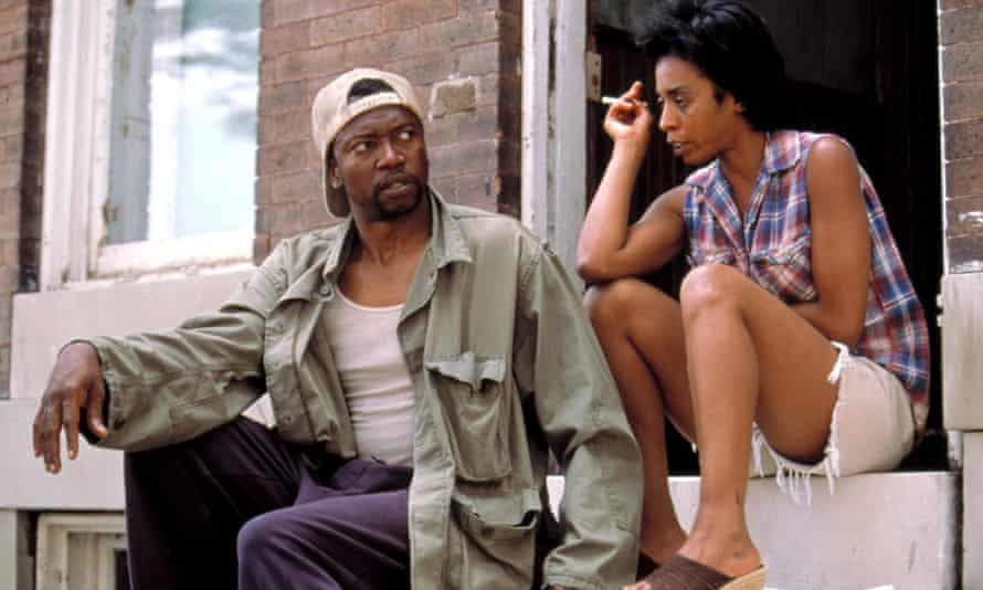 TK Carter and Khandi Alexander in the TV adaptation of The Corner.