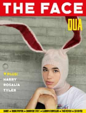 Dua Lipa on the cover.
